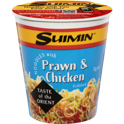 Photo of Suimin Cup Noodles Prawn & Chicken 70gm