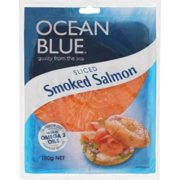 Photo of Ocean Blue Smoked Salmon 180gm