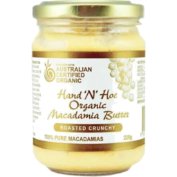 Photo of Hand 'N' Hoe - Macadamia Butter Roasted Crunchy - 225g