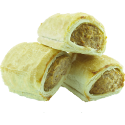 Photo of Beef & Garlic Sausage Roll