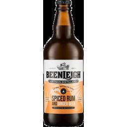 Photo of Beenleigh Spiced Rum & Ginger Beer Bottle