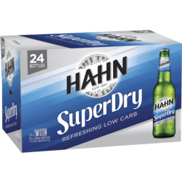 Photo of Hahn Super Dry 330ml 24 Pack