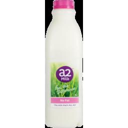 Photo of A2 No Fat Milk Bottle 1lt