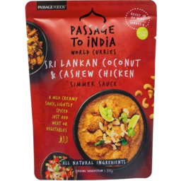 Photo of Passage to Sri-Lanka CocoNut Cashew Chicken Curry 375gm