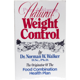 Photo of Walker. Norman Book - Natural Weight Control