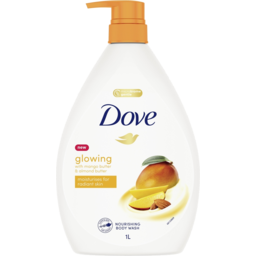 Photo of Dove Body Wash Glowing Mango& Almond Butter 1 Ltr