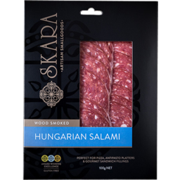 Photo of Skara Salami Hungarian Sliced 100g