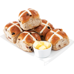 Photo of Breads of Europe Hot Cross Buns Traditional 6 Pack