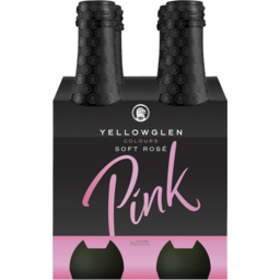 Photo of Yellowglen Pink Everyday Sparkling Rosé 4x200ml