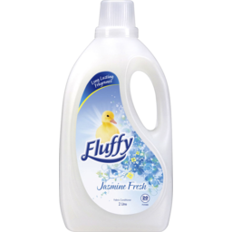Photo of Fluffy Fabric Softener Jasmine Fresh 2lt