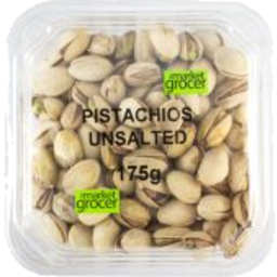 Photo of The Market Grocer Pistachios Roasted Unsalted 175gm