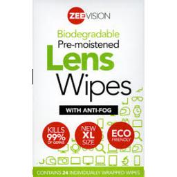 Photo of Zeevision Lens Wipes 24pk