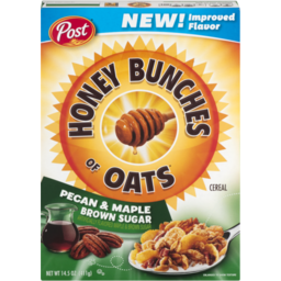 Photo of Honey Bunches Of Oats Cereal Pecan & Maple Brown Sugar