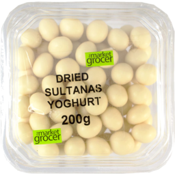 Photo of The Market Grocer Dried Sultanas Yoghurt 200gm