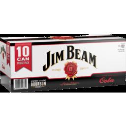 Photo of Jim Beam & Cola