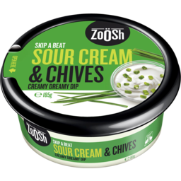 Photo of Zoosh Dip Sour Cream & Chive 185gm