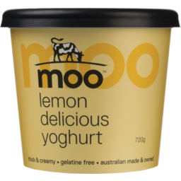 Photo of Moo Lemon Delicious Yoghurt 720g