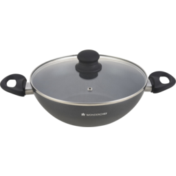 Photo of Wonderchef Premia Wok with Lid 28cm 3.6L