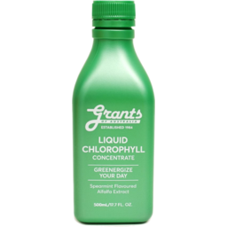 Photo of Grants Liquid Chlorophyll Concentrate