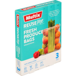 Photo of Multix Produce Bags Reuse 3s