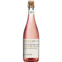 Photo of Squealing Pig Sparkling Rosé 750ml