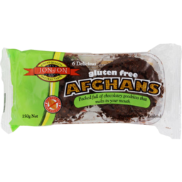 Photo of Jon Jon Gluten Free Biscuits Afghans 6 Pack