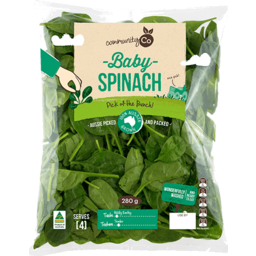 Photo of Community Co Baby Spinach 280g