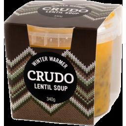 Photo of Crudo Winter Warmers Soup Lentil 340g