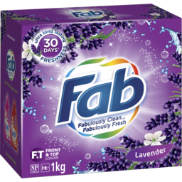 Photo of Fab Lavender Laundry Powder Detergent 1kg