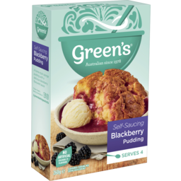 Photo of Green's Blackberry Self Saucing Pudding