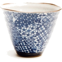 Photo of JSTYLE Quilt Cone Tea Cup