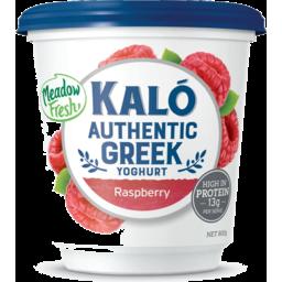 Photo of Kalo Greek Yoghurt Raspberry 800g