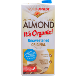 Photo of P/Harv Almond Milk Org Unswt 1l