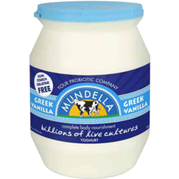 Photo of Mundella Greek Style Vanilla Yoghurt 500g