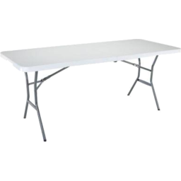 Photo of Lifetime 6' Fold-In Half Table