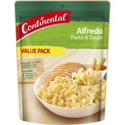 Photo of Continental Pasta & Sauce Alfredo 105gm