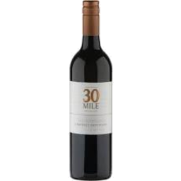 Photo of 30 Mile Cabernet Sauvignon 750ml