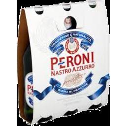 Photo of Peroni Nastro Azzurro Bottles