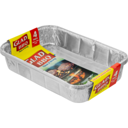 Photo of Glad BBQ Trays 4pack 4