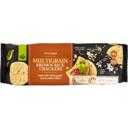 Photo of Select Rice Crackers Brown Multigrain 100g