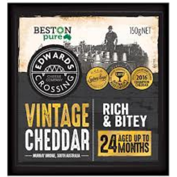 Photo of Edwards Crossing Cheese Vintage Cheddar 150g