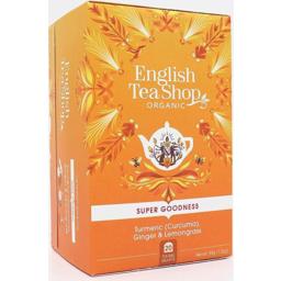 Photo of English Tea Shop Turmeric Ginger Lemon 20's