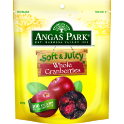 Photo of Angas Park Cranberry Soft & Juicy 140g