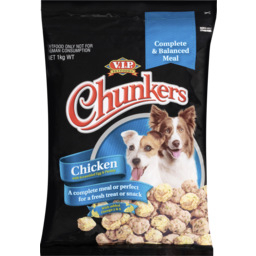 Photo of V.I.P. Petfoods Chunkers Chicken With Scrambled Eggs And Parsley Chilled Dog Food 1kg