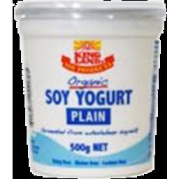 Photo of Kingland Organic Soy Yoghurt 500gm