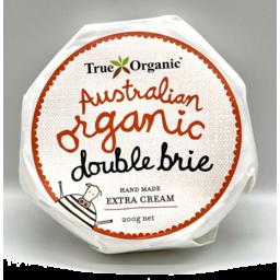 Photo of True Organic Cheese - Double Cream Brie
