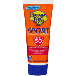 Photo of Banana Boat Spf50+ Sport Sunscreen Lotion 100gm