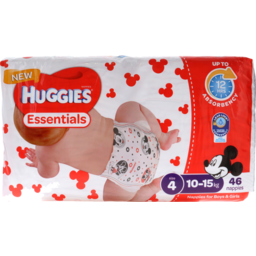 Photo of Huggies Essential Nappy Essential Size 4 1