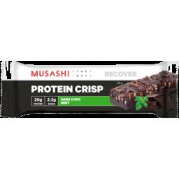 Photo of Musashi Musashi Dark Choc Mint Protein Crisp Bar 60g