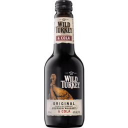 Photo of Wild Turkey Bourbon & Cola Bottle